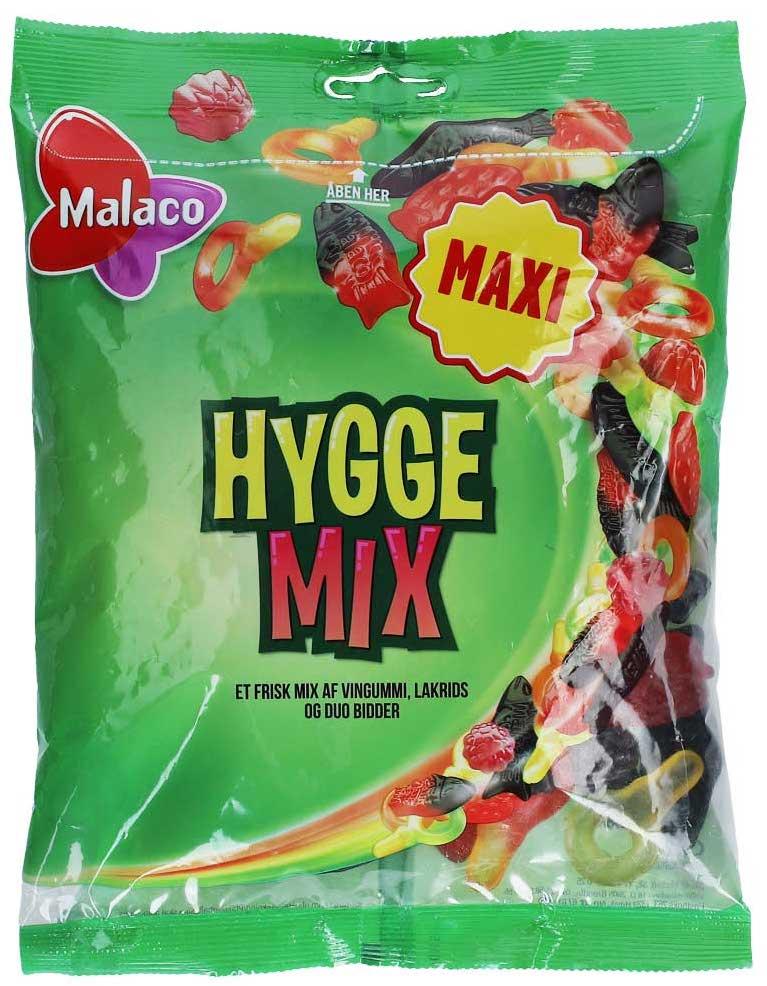 Malaco Hyggemix Fruchtgummi mit Lakritz 375g