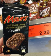 Mars Soft baked Double Chocoalte + Caramel Cookies