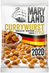 Maryland Snacknüsse Currywurst-Style 150 Gramm
