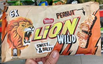 Nestlé Lion Wild Peanut Sweet+Salty 6 Stück