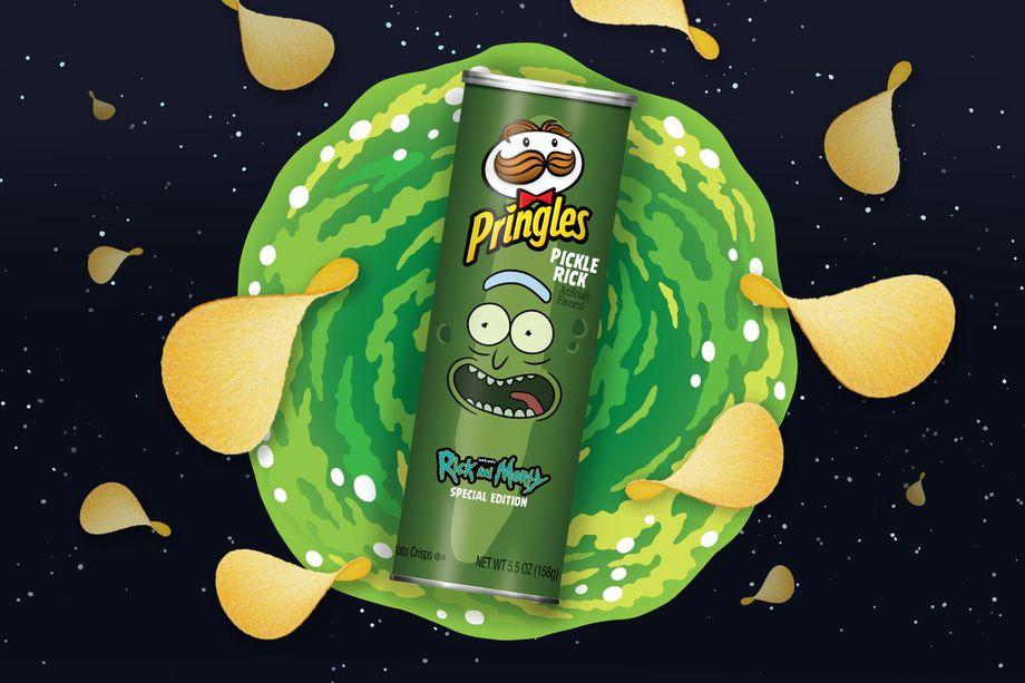 Pringles Pickle Rick