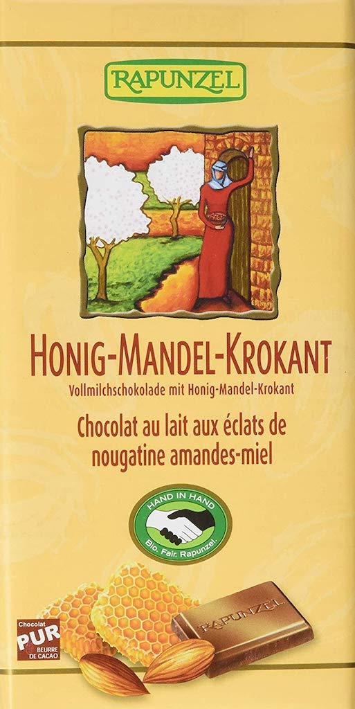 Rapunzel Honig-Mandel-Krokant Vollmilchschokolade