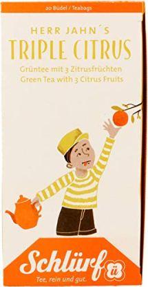 Schlürf Tee Herr Jahn's Triple Citrus