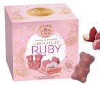 Ruby-Schokolade Truffettes de France Guimauve Enrobée Chocolat Ruby - Marshmallowbären mit Ruby-Schokolade überzogen