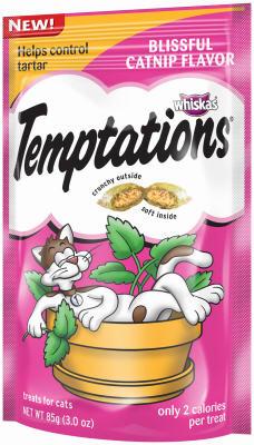 Whiskas Temptatios Catnip Flavor Katzenminze