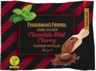 fisherman's friend chocolate-mint-cherry ohne Zucker 30g