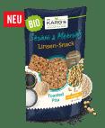 """Dr.Karg's Linsenproteinsnack """"Toasted Pita"""" mit Sesam und Meersalz"""
