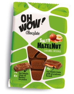 WAWI Oh Wow! Salty Hazelnut Caramel Schokolade