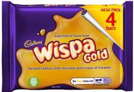 Cadbury Wispa Gold 4 STück