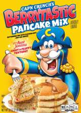 Cap'n Crunch's Berytastic Pancake Mix From the Makers of Aunt Jemima 907 Gramm Just add Water