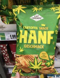 EAT Trends KartoffelSnack Hanf-Geschmack