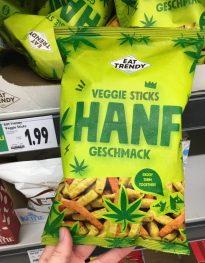 Eat Trendy Veggie Sticks Hanf-Geschmack