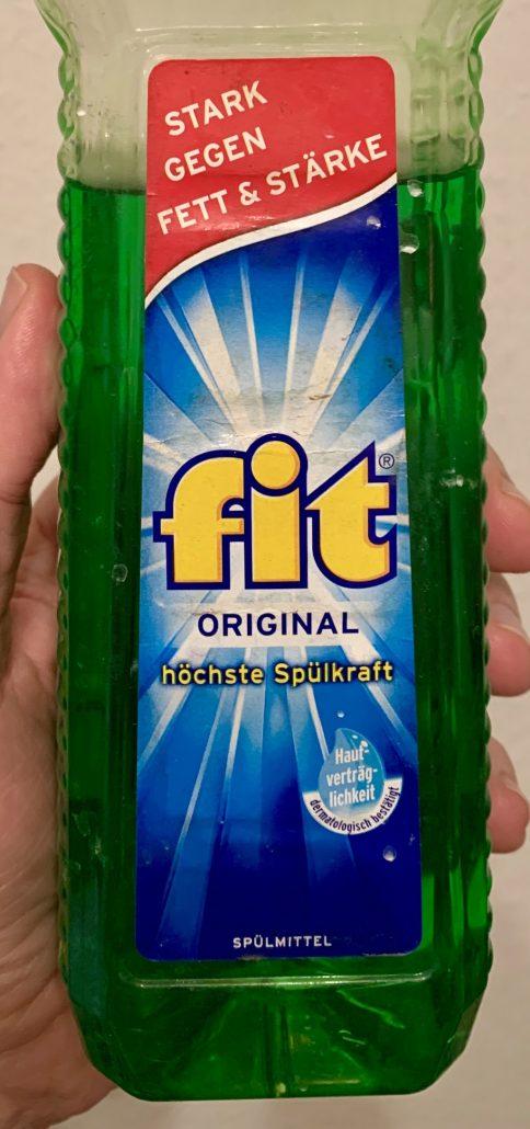 Fit Geschirrspülmittel Original Grün