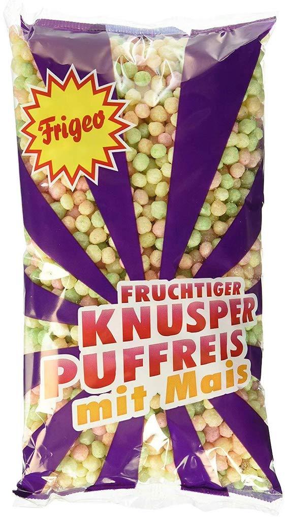 Frigeo Fruchtiger Knusper Puffreis mit Mais
