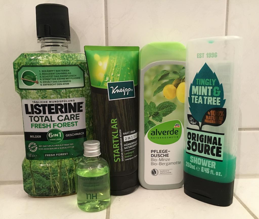 Green Washing: Hygiene-Produkte mit Naturmotiven