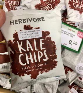 Herbivore Kale Chips Birds Eye Chilli