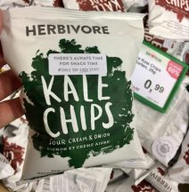 Herbivore Kale Chips Sour Cream+Onion