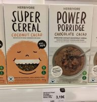 Herbivore Super Cereal Coconut Cacao+Chocolate Cacao