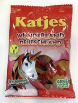 Katjes Wunderland Deutschland Fruchtgummi schwarz-rot-gold vegan