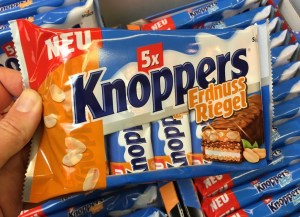 Knoppers Erdnuss-Riegel 5er