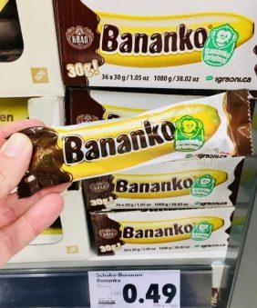 Kras Bananko Original Schokobananen 30 Gramm