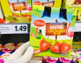 Lidl Milbona Fruit King Safari Quetschies to go Erdbeere mit Flamingo-Motiv 4x80G