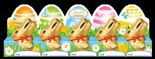Lindt Mini-Goldhasen Oster-Süßigkeiten 2020
