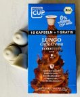 MyCoffee Cup-11 Lungo-Kapseln Caffé Crema kompostierbar