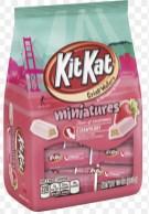 Nestlé KitKat Crisps Wafers miniatures Strawberry 283 Gramm