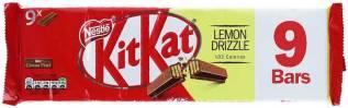 Nestlé Kitkat Lemon Drizzle 9 Stück