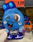 Nestlé Smarties Blau als Osterhase