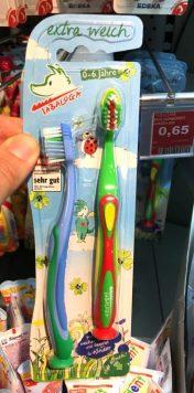 Tabaluga Zahnbürste für Kinder 0-6 Jahre Extra weich
