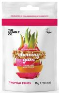 The Humble Co Natural Sources chewing Gum Sugar free with Xylitol Tropical Fruits 19 Gramm 10 Stück
