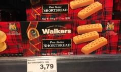 Walkers Pure Butter Shortbread Buttergebäck 150 Gramm