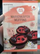 Aldi BackFamily Marienkäfer Muffins 390G