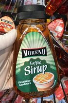 Aldi Moreno Kaffee SirupHaselnussgeschmack