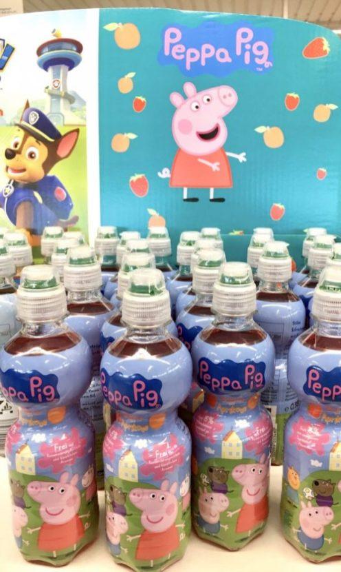 Aldi Peppa Pig Limo POS-Display