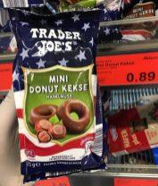 Aldi Trader Joe's Mini Donut Kekse 125 Gramm