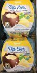 Argenta Dip Eier mit Eierlikörzubereitung 4 gefüllte Schokoeier mit Alkohol