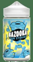 Bazooka Sour Straw Blue Raspbery e-liquid
