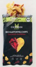 Chipsbox Green Bio Kartoffelchips smoked Paparika