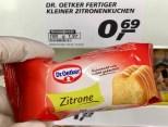 Dr. Oetker Fertiger Kleiner Minizitronenkuchen