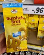 Dr. Quendt Russisch Brot mit Karamell Unser Original 115G