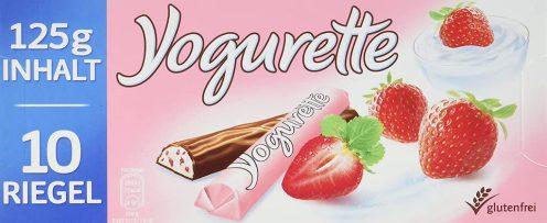 Ferrero Yogurette Original Erdbeere 125G