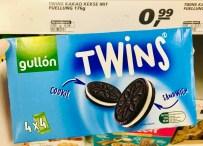 Gullón Twins Oreo Cookies+Cream Black+White 4er