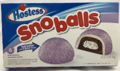 Hostess Snowballs Lila