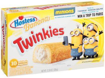 Hostess Twinkies Banana Minions