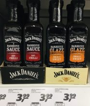 Jack Daniel's Barbecue Sauce Hot Chilli+Barbecue Glaze Smokey Sweet