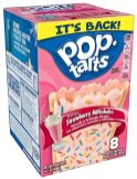 Kellogg's Pop Tarts Frosted Strawberry Milkshake 8er