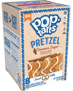 Kellogg's Pop-Tarts Pretzel Cinnamon Sugar 8erSweet+Salty